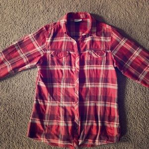 Columbia Flannel Top